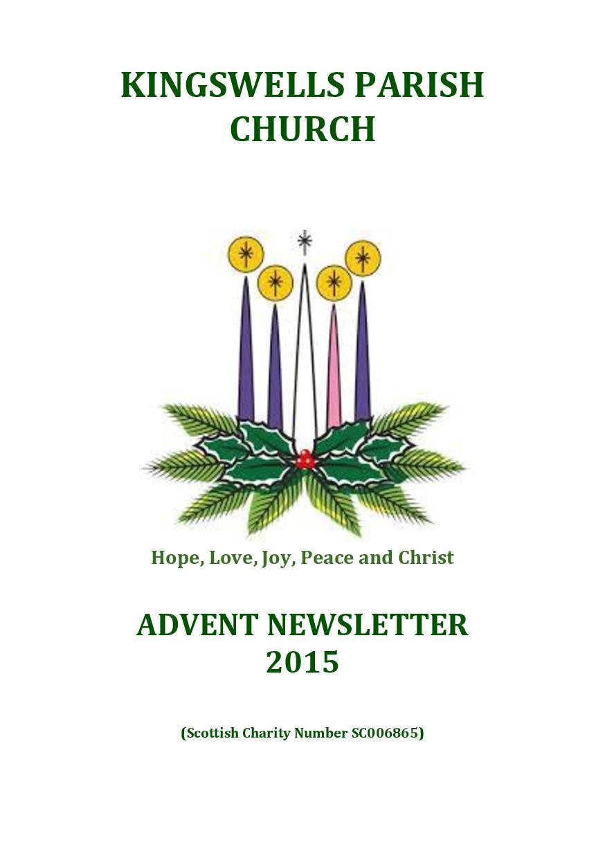 Advent Newsletter 2015