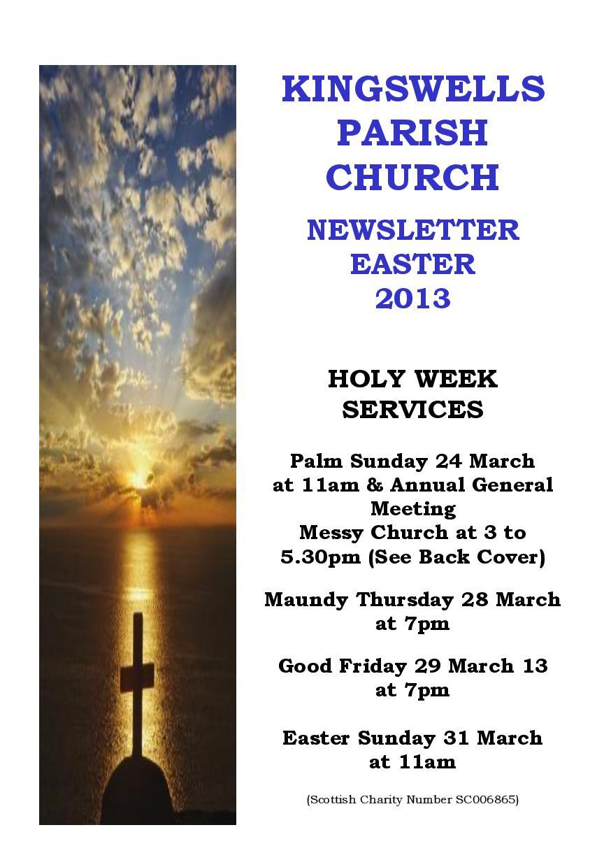 Spring Newsletter 2013