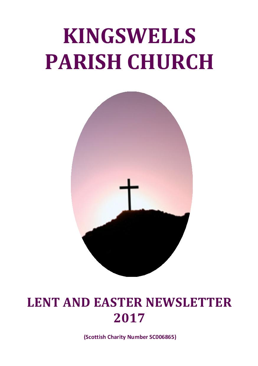 Lent and Easter Newsletter 2017
