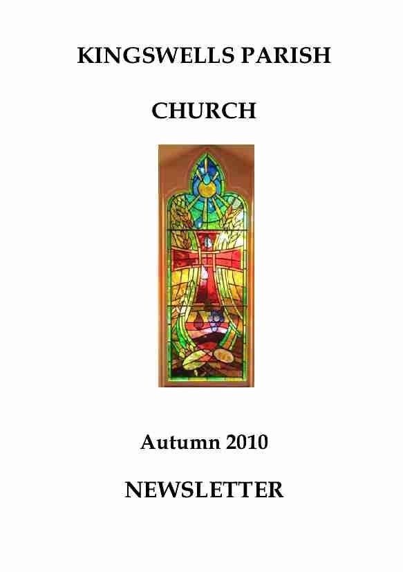 Autumn Newsletter 2010