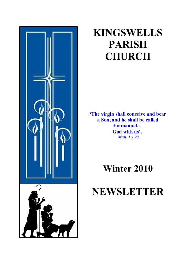 Winter Newsletter 2010