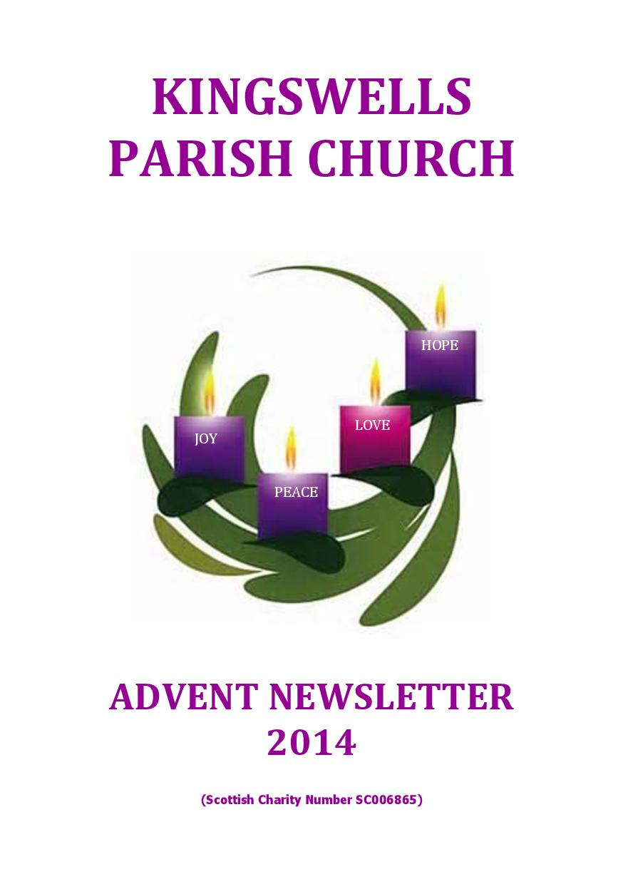 Advent Newsletter 2014