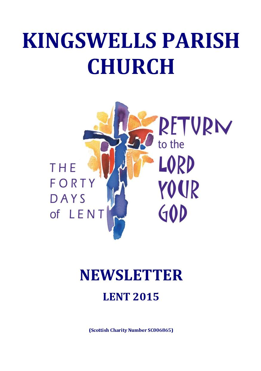 Lent Newsletter 2015